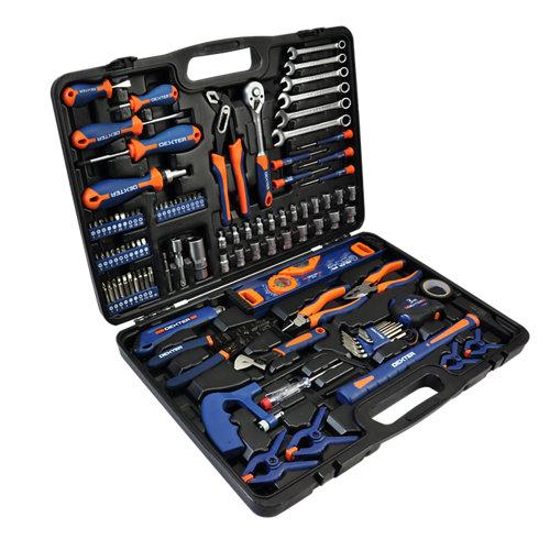 Maletín de 108 herramientas dexter