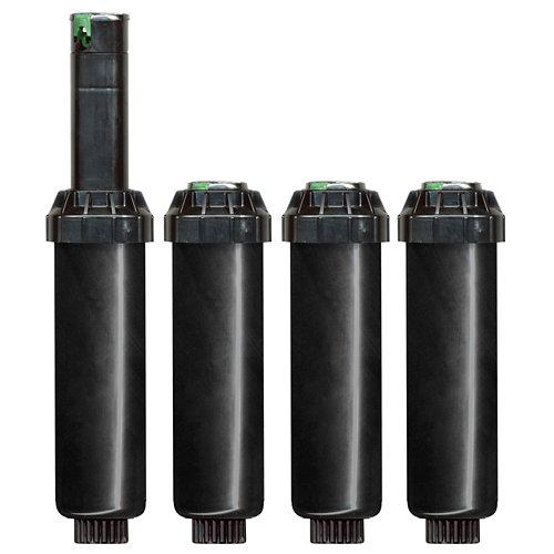 Pack de 4 aspersores/turbinas hunter srm corto alcance hasta 9.4m con llave