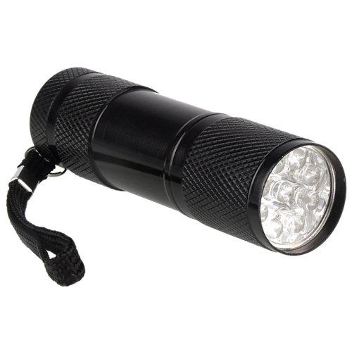 Linterna led lexman mini negra 45 lm