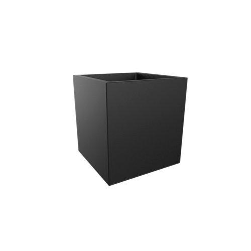 Bote de plástico elho negro 39x41 cm