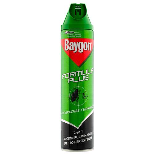 Insecticida anticucarachas y hormigas baygon aerosol 600 ml