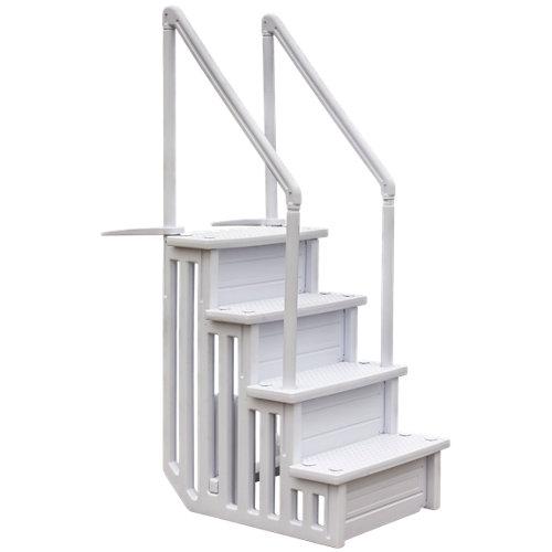 Escalera de seguridad fácil acceso 4 peldaños gre