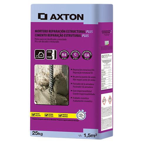 Mortero reparación estructural axton plus 25 kg