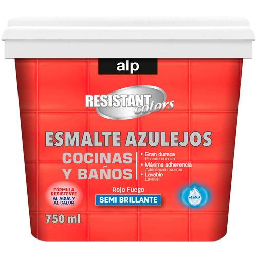 Esmalte azulejos cocina y baño alp rojo fuego 750 ml