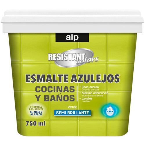 Esmalte azulejos cocina y baño alp verde 750 ml