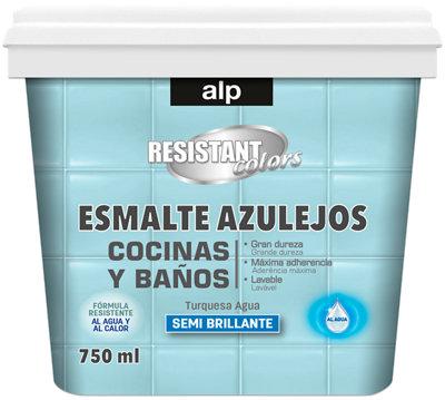 Esmalte azulejos cocina y baño ALP azul turquesa 750 ml