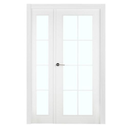 puerta marsella blanco de apertura derecha de 115 cm