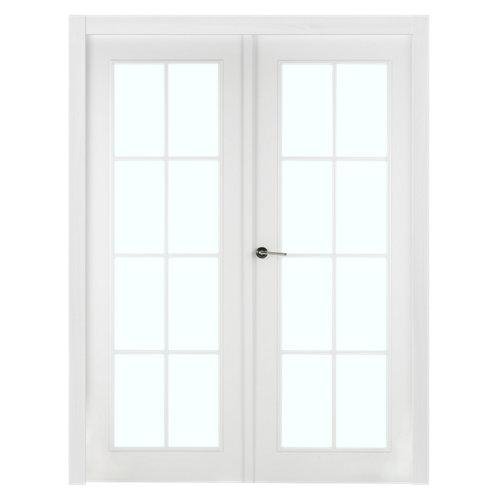 puerta marsella blanco de apertura derecha de 165 cm