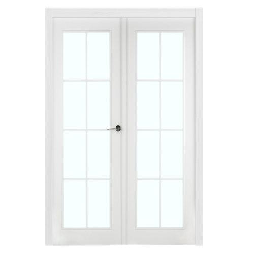 puerta marsella blanco de apertura izquierda de 125 cm