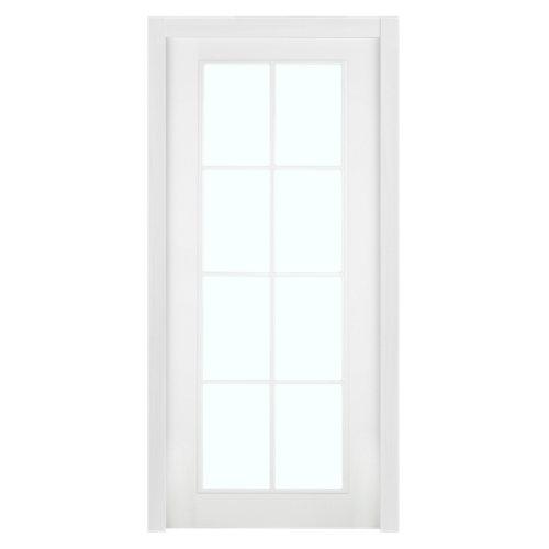 Puerta de interior corredera marsella blanco de 82.5 cm