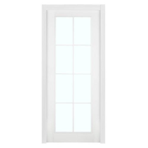 Puerta de interior corredera marsella blanco de 72.5 cm