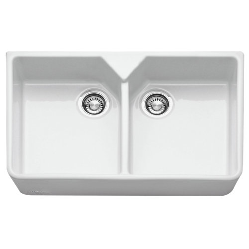 Fregadero 2 senos de resina rectangular franke belfast 45 x 36.3 cm