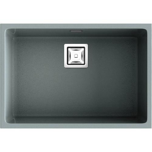 Fregadero de resina rectangular poalgi zie 70x45cm
