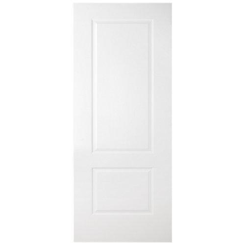 Puerta de interior corredera marsella blanco de 92.5 cm