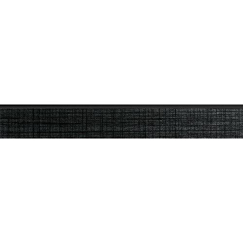 Rodapié pecho paloma negro 90 cm de largo