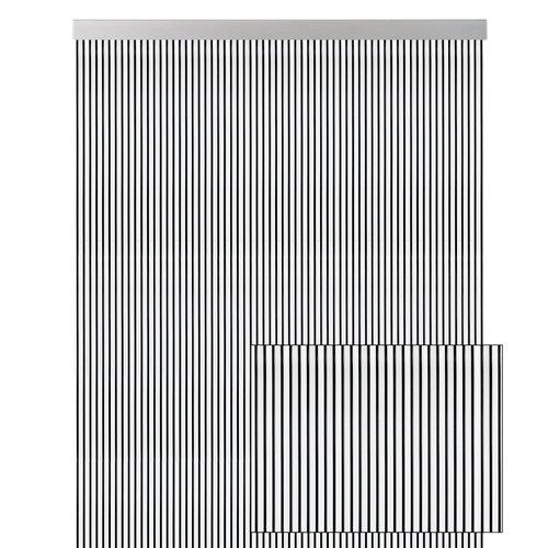 Cortina de puerta blanco de 90 x 210 cm
