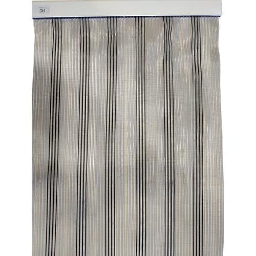 Cortina de puerta negro de 90 x 210 cm