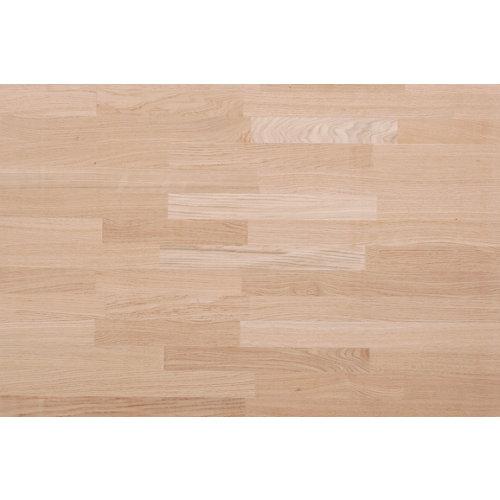 Tapa de mesa aglomerado roble/eucalipto de 80x120x3,1cm (anchoxaltoxgrosor)
