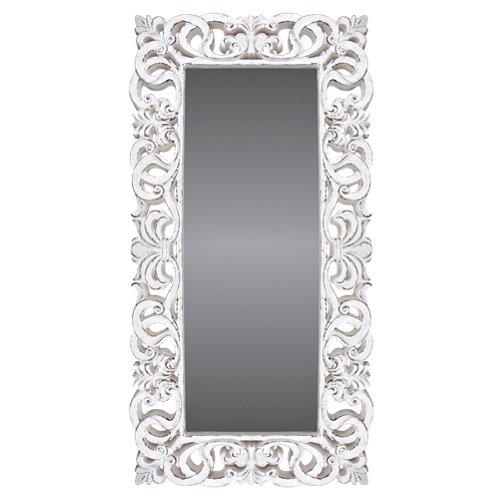 Espejo rectangular goya blanco 178 x 88 cm