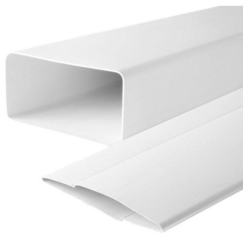 Tubo rectangular pvc 100 mm