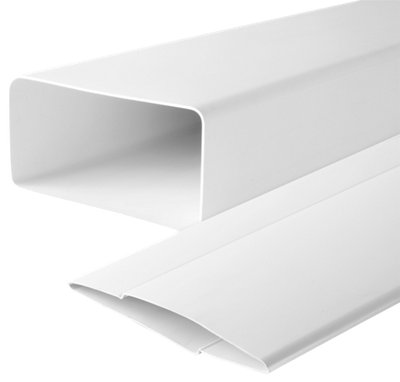 Tubo Rectangular Pvc 100 Mm Leroy Merlin