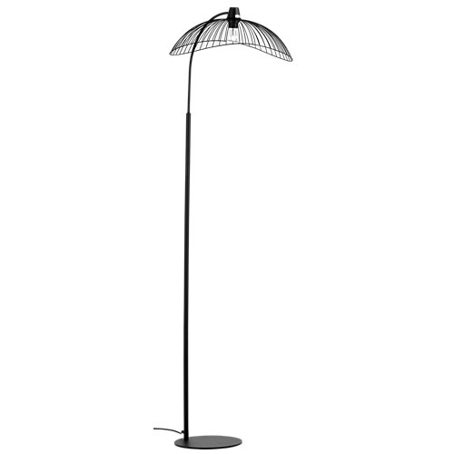 Lámpara de pie kastelli negra