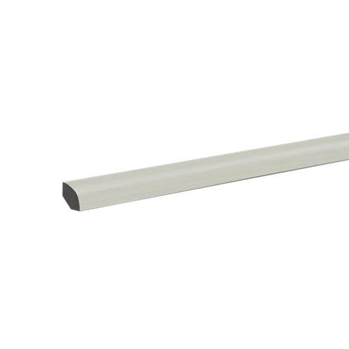 Junquillo pvc fn profile 240 cm blanco mod001