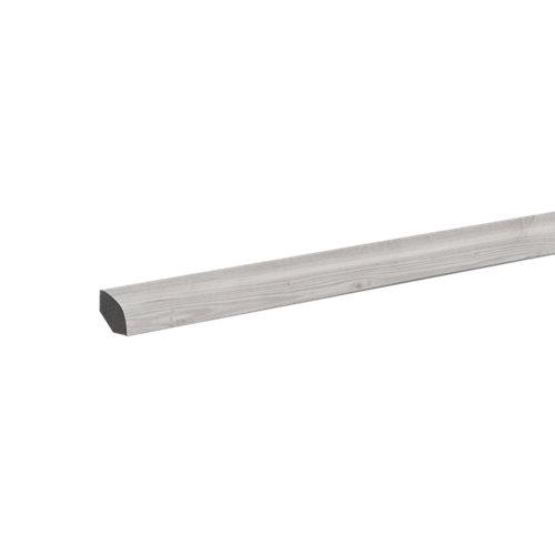 Junquillo pvc fn profile 240 cm blanco mod003