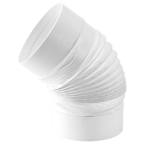 Codo flexible redondo d100 mm