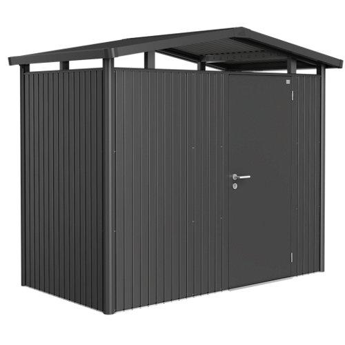 Caseta de metal panorama de 273x227x158 cm y 4.31 m2