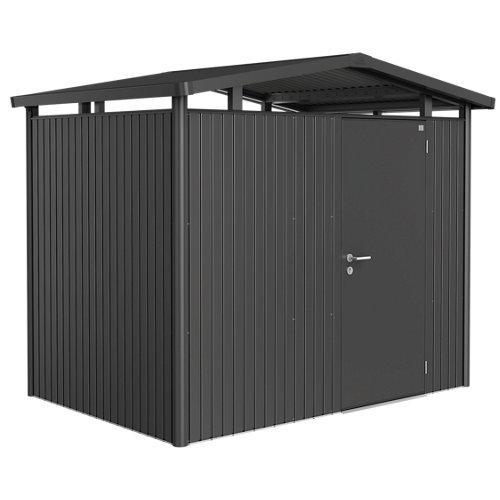 Caseta de metal panorama de 273x227x198 cm y 5.41 m2