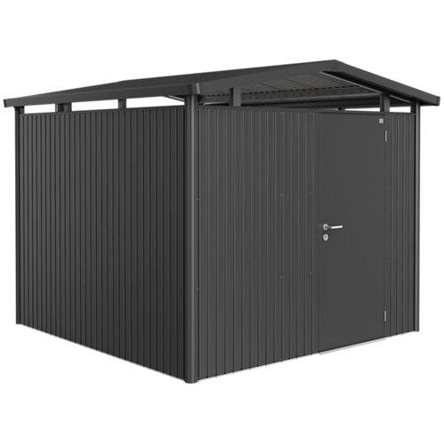 Caseta de metal panorama de 273x227x278 cm y 7.59 m2
