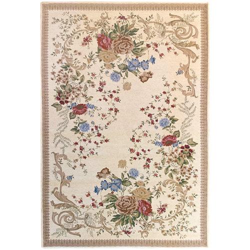 Alfombra multicolor algodón y poliéster florencia 830 70 x 120cm