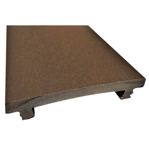 Remate lateral de composite pool red wood 230x0,8x9,2 cm