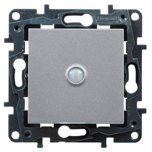 Interruptor inteligente legrand niloé step aluminio
