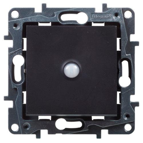 Interruptor inteligente legrand niloé step negro