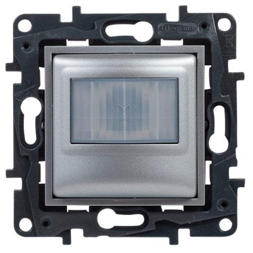 Detector de movimiento legrand niloé step aluminio