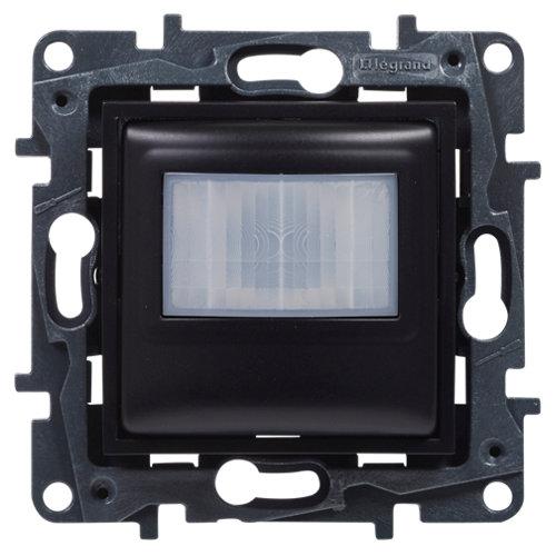 Detector de movimiento legrand niloé step negro