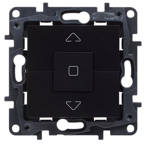 Interruptor de persianas legrand niloé step negro
