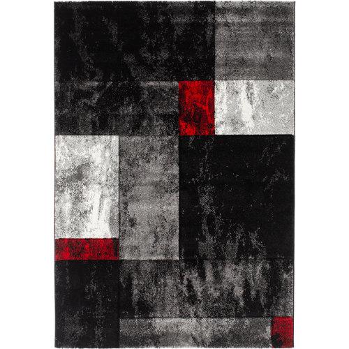 Alfombra gris polipropileno skat/669//gris 160 x 230cm