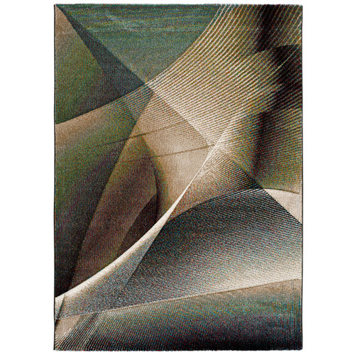 Alfombra multicolor polipropileno warhol 21674 200 x 290cm