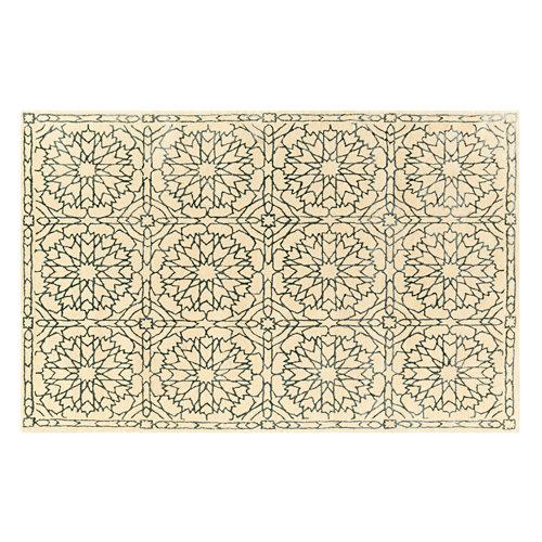 Alfombra gris lana infinity 160x230 cm
