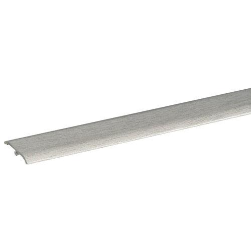 Perfil aluminio artens 93 cm gris mod012