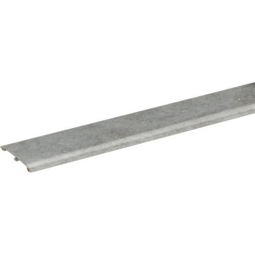 Perfil aluminio artens 93 cm gris mod055