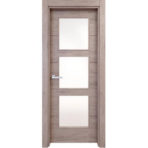 puerta berna gris de apertura izquierda de 62.5 cm