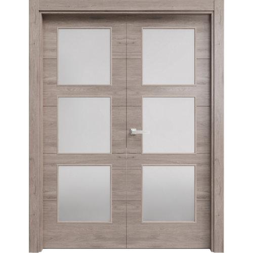 puerta berna gris de apertura derecha de 62.5 cm