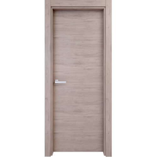 Puerta oslo gris de apertura derecha de 72.5 cm