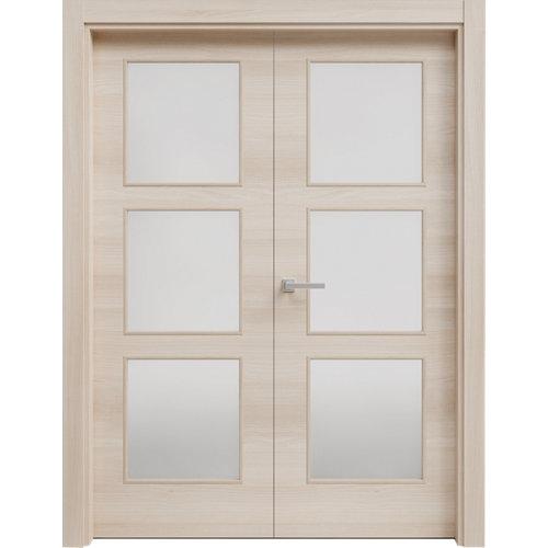 puerta oslo acacia de apertura derecha de 62.5 cm