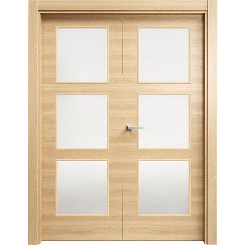 puerta oslo roble de apertura derecha de 62.5 cm