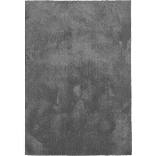 Alfombra poliamida color gris / plata 67cm x 250cm